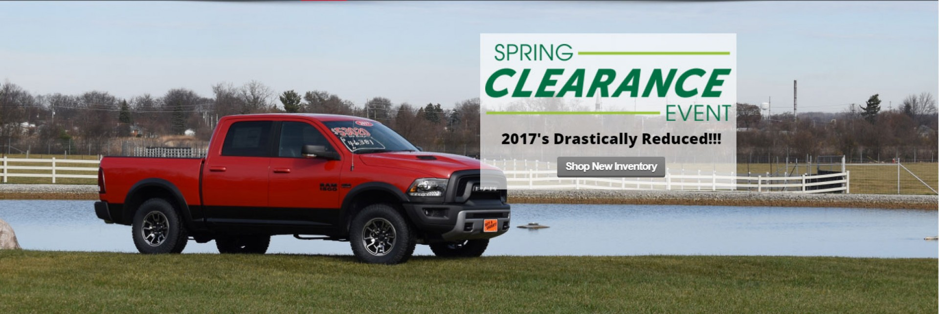 Spring Clearance Event 2017's Drastically Reduced