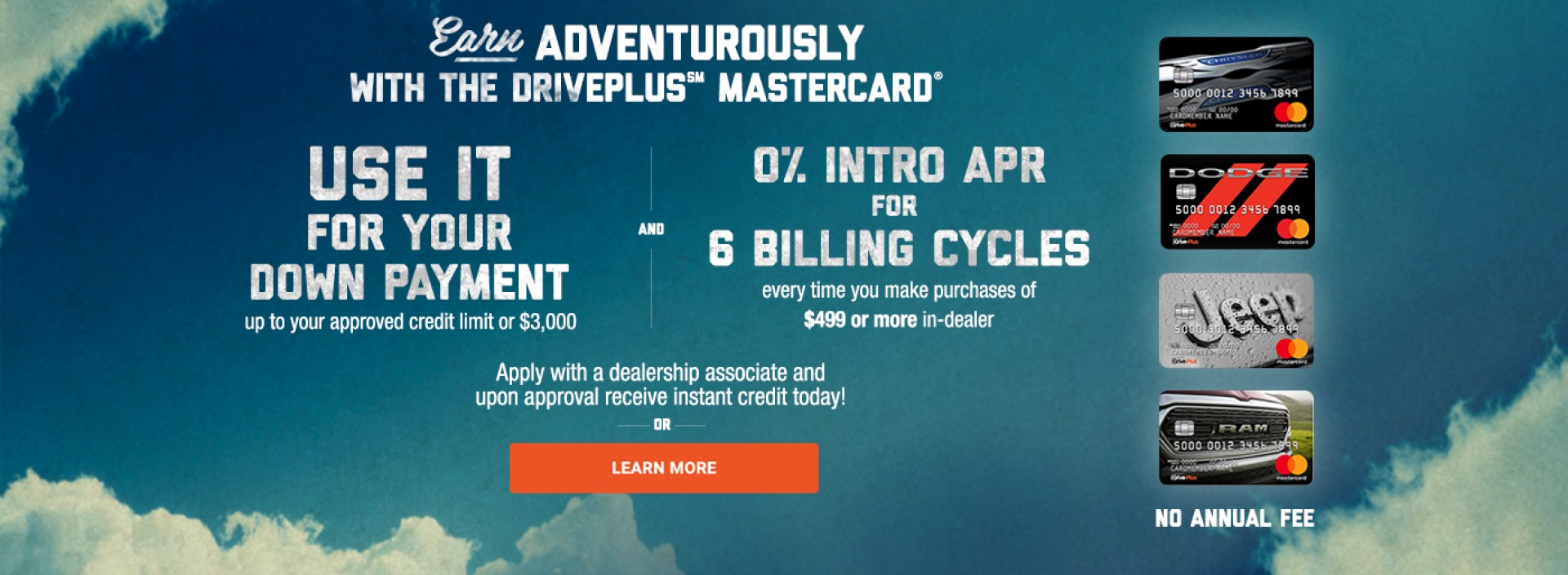 Earn Adventurously with the Driveplus Mastercard