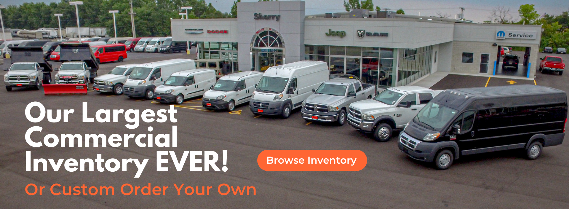 Our Largest Commercial Inventory Ever!