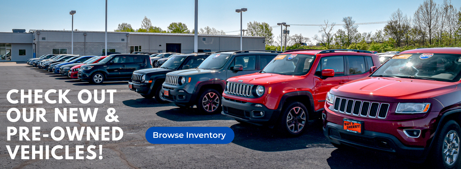 Check Out Our New & Pre-Owned Vehicles